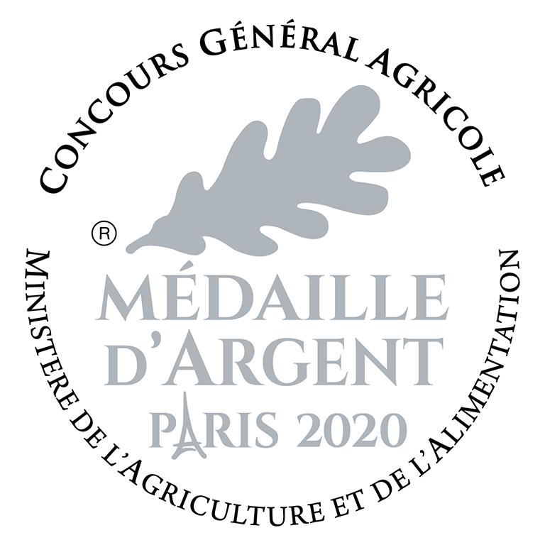 Concours Général de Paris 2020 - Médaille Argent Côtes du Rhône Villages Sablet Rosé millésime 2019